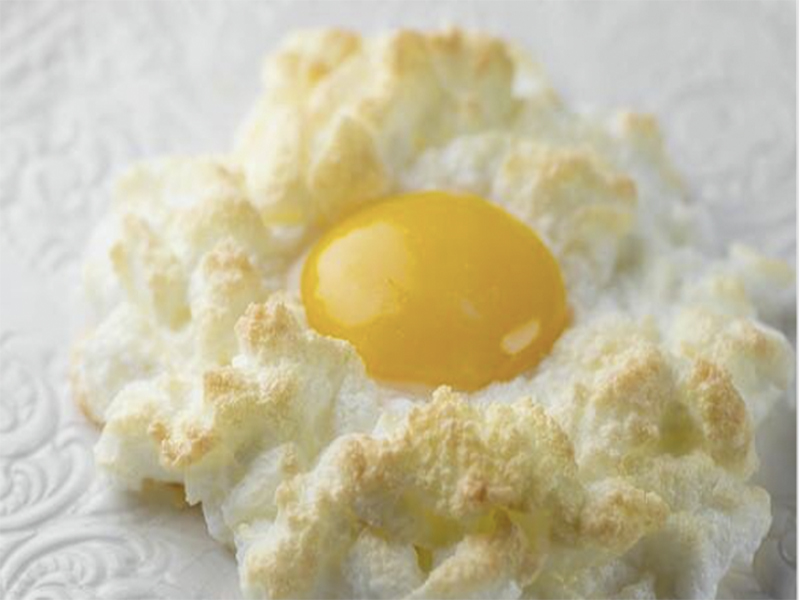 cloud eggs receta