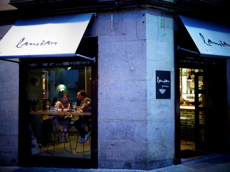 fachada lamian soy kitchen madrid