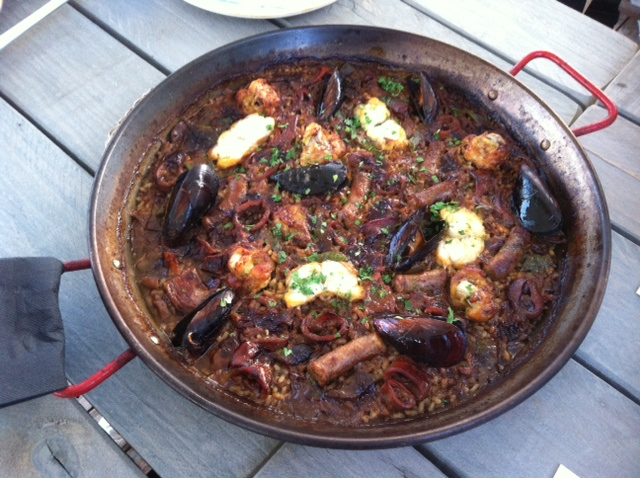 paella barracuda