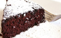 vegan choco coco cake